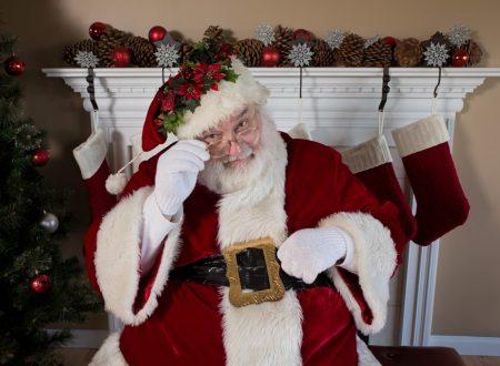 Favole moderne: Babbo Natale arriva in treno a Campobasso